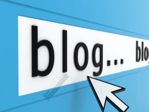 blogging or blog