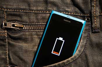 smartphone battery life