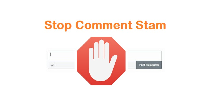 stop comment spam