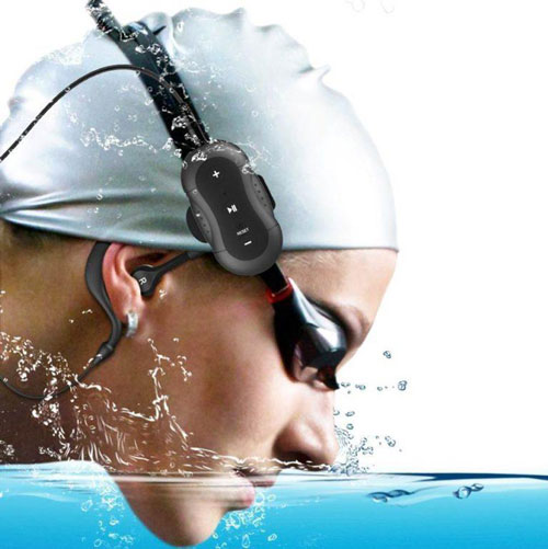 Aerb MD190 4gb waterproof headphones