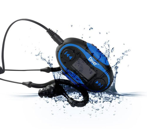 diver waterproof headphones
