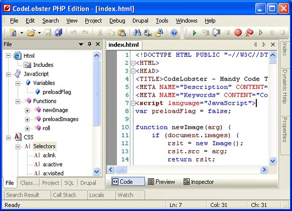 codelobster php edition review